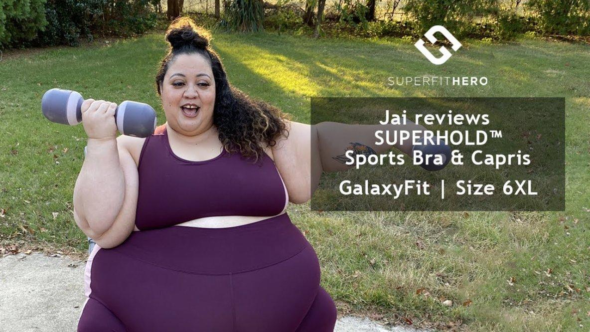 """Regardez """"Jai reviews Superfit Hero SUPERHOLD™ Set in size GalaxyFit (6XL)"""" sur YouTube"""