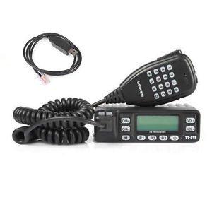 LX VV-898 Dual Bande VHF/UHF 136-174/400-470MHz DTMF Mobile CB Radio + USB Cable