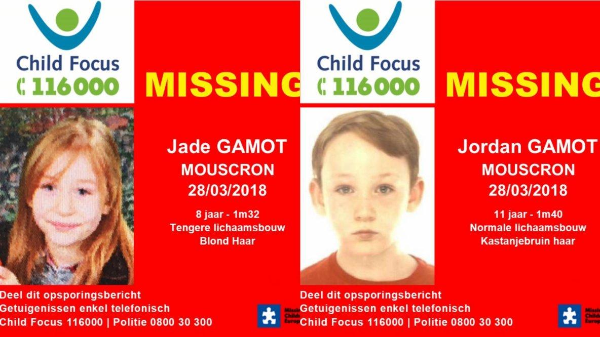 Mouscron | Jade et Jordan retrouvés, la maman auditionnée