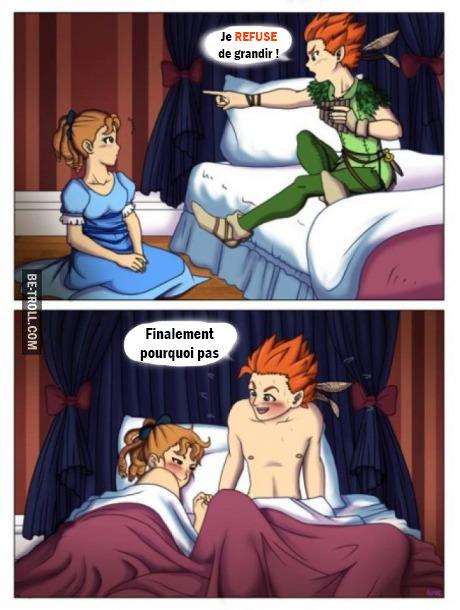 Peter Pan refuse de grandir ! | Be-troll