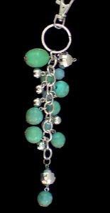 bijou,sac,accessoires,mode,perles,turquoise,vert,argenté