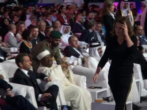 Nicolas Sarkozy et Cécilia s'évitent à Doha