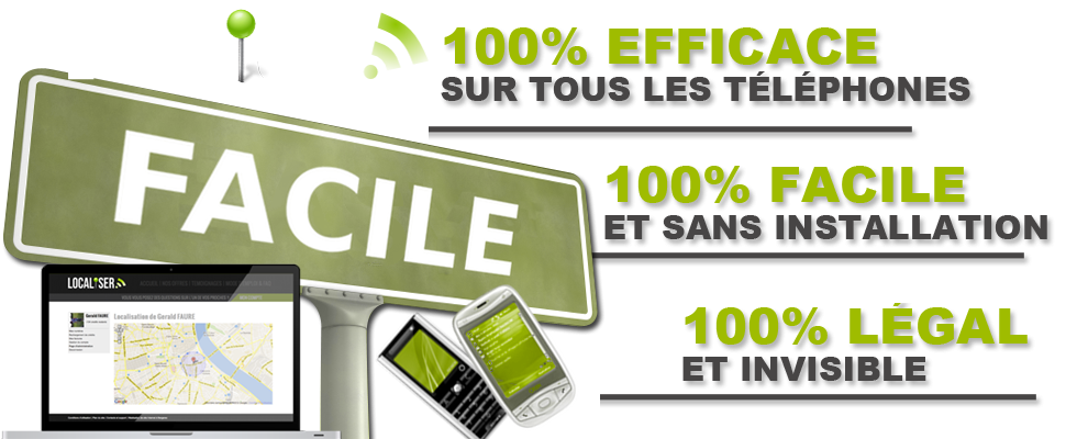 Localise iphone - Localiser un Portable