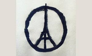 Attentats à Paris: «Peace for Paris»,