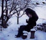 J'ai froid, je pleurs de la neige
