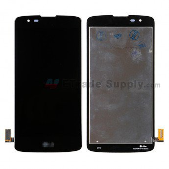 LG K8 K350 LCD Screen and Digitizer Assembly Black - ETrade Supply