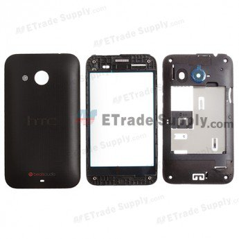 HTC Desire 200 Housing - Black
