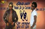 Arafat defie DJ Mix au Palais de la Culture d'Abidjan le 26Decembre