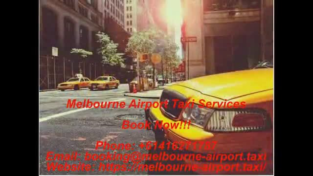 Melbourne Cab to Airport - Taxi yellow cab