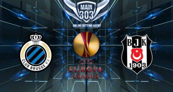 Prediksi Club Brugge vs Besiktas 13 Maret 2015 UEFA Europa L