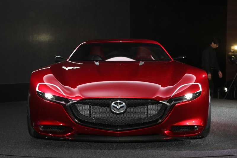 Mazda prepares its RX Vision Concept for the 2018 Tokyo Motor Show