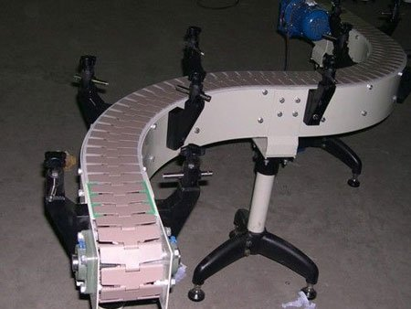 Plastic Chain Conveyors - Modern Automation Manufactory