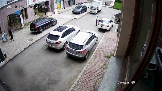 très drole.. une femme perdre le contrôle de sa voiture - vidéo Dailymotion