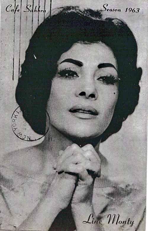 Line Monty, la 'Glamoureuse d'Alger' qui chante si bien l'arabe