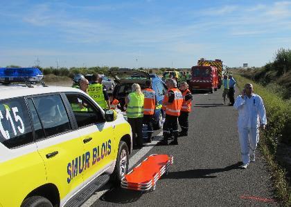 22 blessés dont 2 graves dans l'accident d'un car luxembourgeois en France