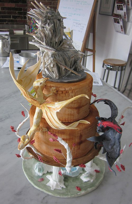 Game of Thrones Wedding Cake [Dessert Time]