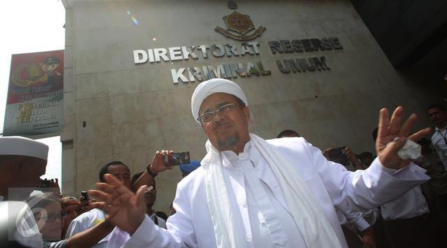 Polisi Berencana Jemput Paksa Rizieq Shihab, Ini Tanggapan FPI - Berita Harian Indonesia