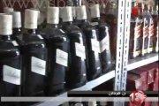 Sidi Bel Abbès : Saisie de 336 bouteilles de vin à bord d'un véhicule