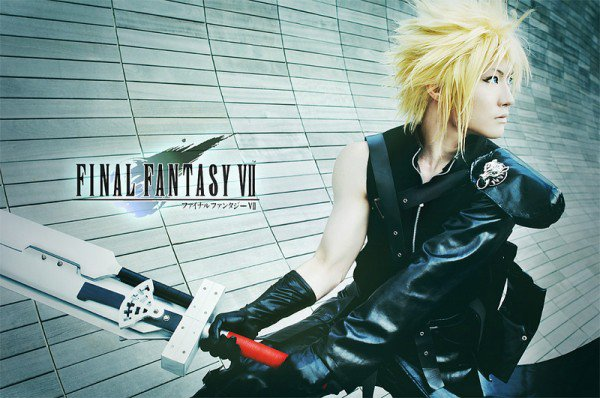 "Beautiful ""Final Fantasy VII"" Cloud Strife [Cosplay]"