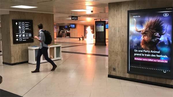 Tentative d'Attentat à Bruxelles : Un homme portant une ceinture d'explosifs neutralisé à la gare centrale | Le Nouvel Ordre Mondial