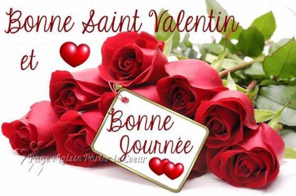 Bonne St valentin à tous, hétéros, gays, bi et Lesbienne tout le mo...