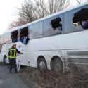 PETERSHAGEN: Busunfall in Petershagen: Ursache noch unklar - Neue Westfälische