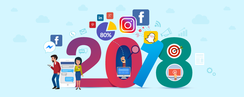 Top 4 Social Media Trends for 2018