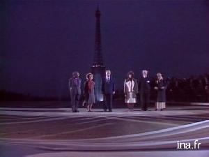 mitterrand - L'inauguration du parvis des droits de l'homme au Trocadéro - Ina.fr