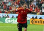 Euro 2008 : España - Russie - David Villa Sanchez 7 Valencia CF transfert...