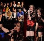 9 Janvier 2010 : Anna Maria a chanté sur scène au concert d'iPOP à Century City.
