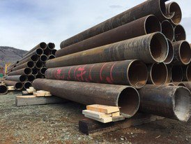 Coated, Beveled, and Grooved Steel Pipe Supplier | Carbon Steel Pipe Surplus