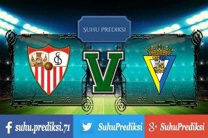 Prediksi Bola Sevilla Vs Cadiz 12 Januari 2018