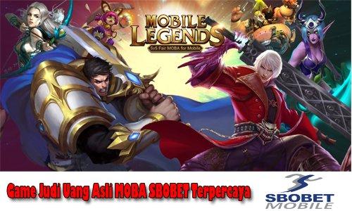 Judi Turnamen Game Mobile Legend Android iOS Uang Asli