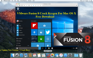 VMware Fusion 8.5.3 Cracked Serial For Mac OS Sierra Full Download
