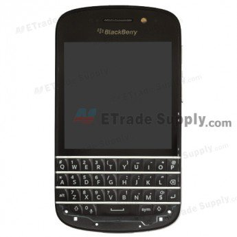 BlackBerry Q10 LCD Screen and Digitizer Assembly with Middle Frame
