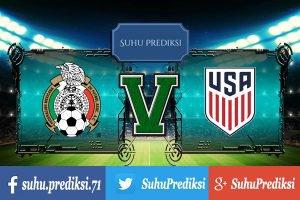 Prediksi Bola Mexico Vs Amerika Serikat 12 Juni 2017