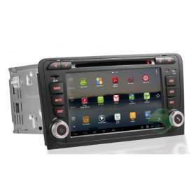 Android 7 Zoll Auto DVD Player für Audi A3(Touchscreen,GPS,TV,Ipod, 3G,Wlan)