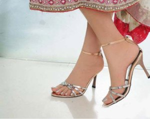 49985d4b2c7bd5 ... Latest Pakistani Bridal Shoes Heels