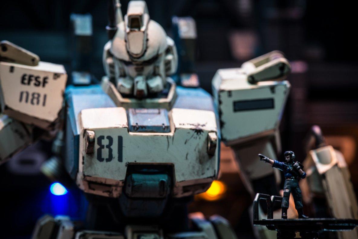 MG 1/100 Gundam Ez-8 Diorama