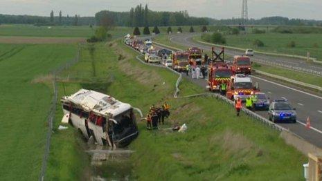 Grave accident sur l'A77 à hauteur de Gien - faits divers - France 3 Régions - France 3