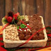 Giftblooms Offer Stylish Gift Basket On Christmas Festive