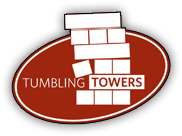 Tumbling Towers - Giant Wood Blocks Game 2.5FT+ to 5FT - LIFE SIZE Stacking Party Game for any Group EVENT or Party - Play the #1 Life Size Stacking Game