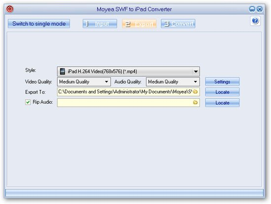 How-to - How to convert SWF videos to iPad with Moyea SWF to iPad converter?
