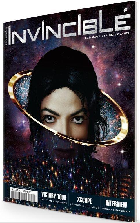 Nouveau: Invincible, le magazine du Roi de la Pop bientôt dans les kiosques... - MJ France | Actualités Michael Jackson