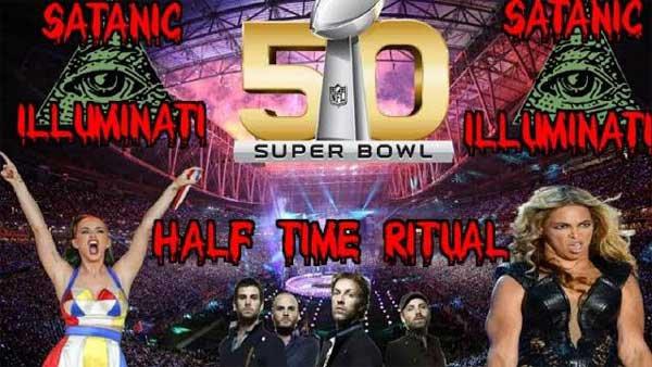 Les rituels semi-sataniques du Super Bowl Illuminati 2016 exposés (Explication des rituels/ANGLAIS) | Le Nouvel Ordre Mondial