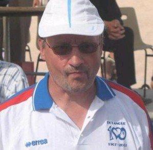 Le joueur de Gourdon (Lot), Christian Lagarde, invité de Pétanque 12 - petanque12.com