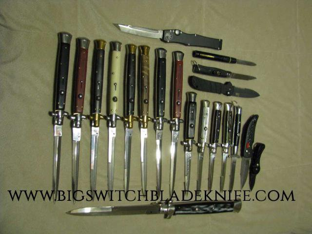 Switchblades for sale at www.bigswitchbladeknife.com