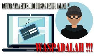 Kasak Kusuk Indonesia 99: Waspadalah Dengan Nama Situs Judi Online Berikut Ini !!!