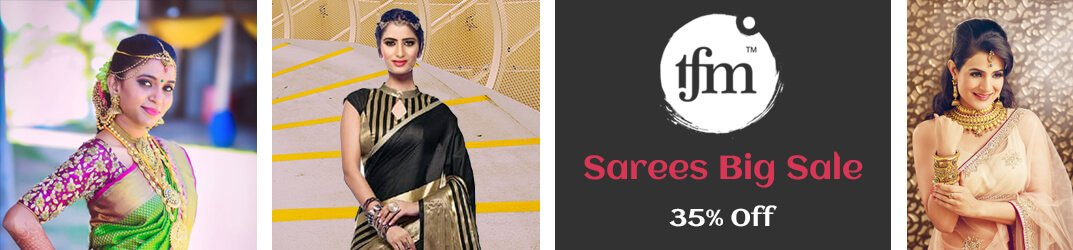 Sarees - New and Latest Collection of Indian Fancy Saris Online