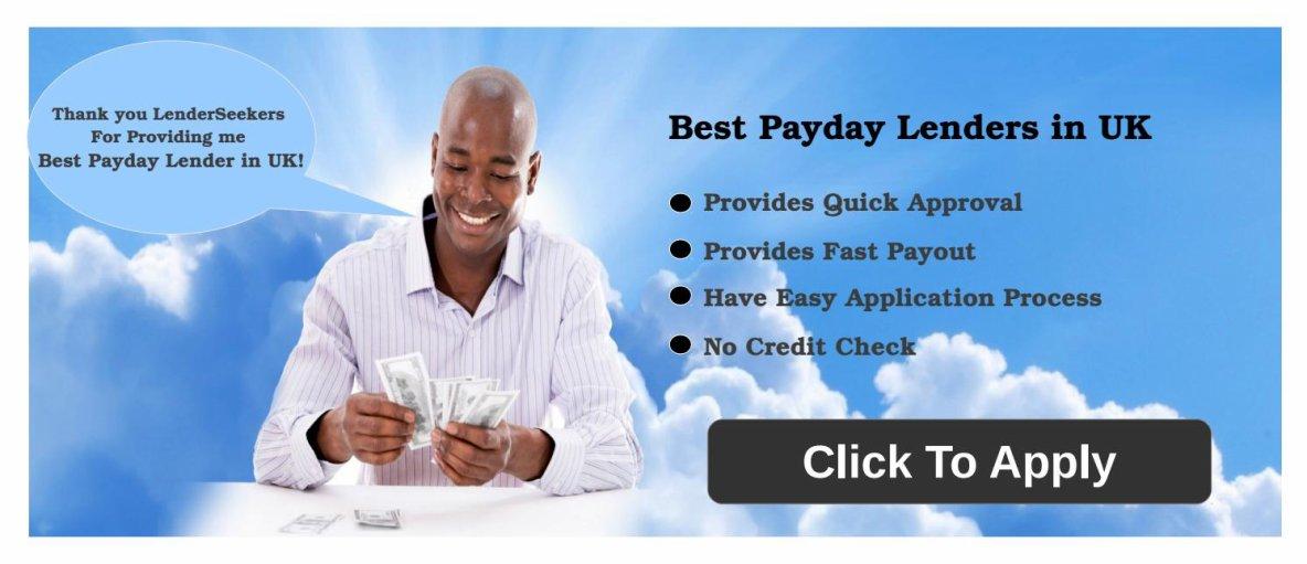 Best Payday Lenders in UK at LenderSeekers